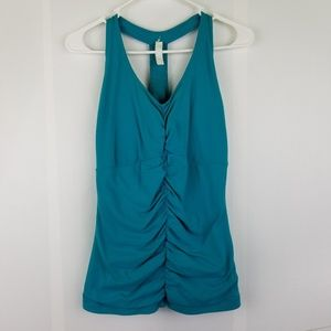 Lucy Perfect Core Halter Tank Top large